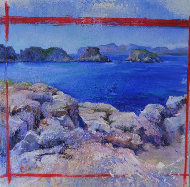 MALGRATS |Pintura de ÁNGELES CERECEDA | Compra arte en Flecha.es