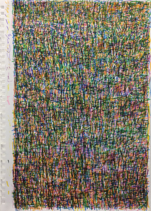 After Oxjam - a Music synesthesia works |Pintura de JHIH YU CHEN | Compra arte en Flecha.es