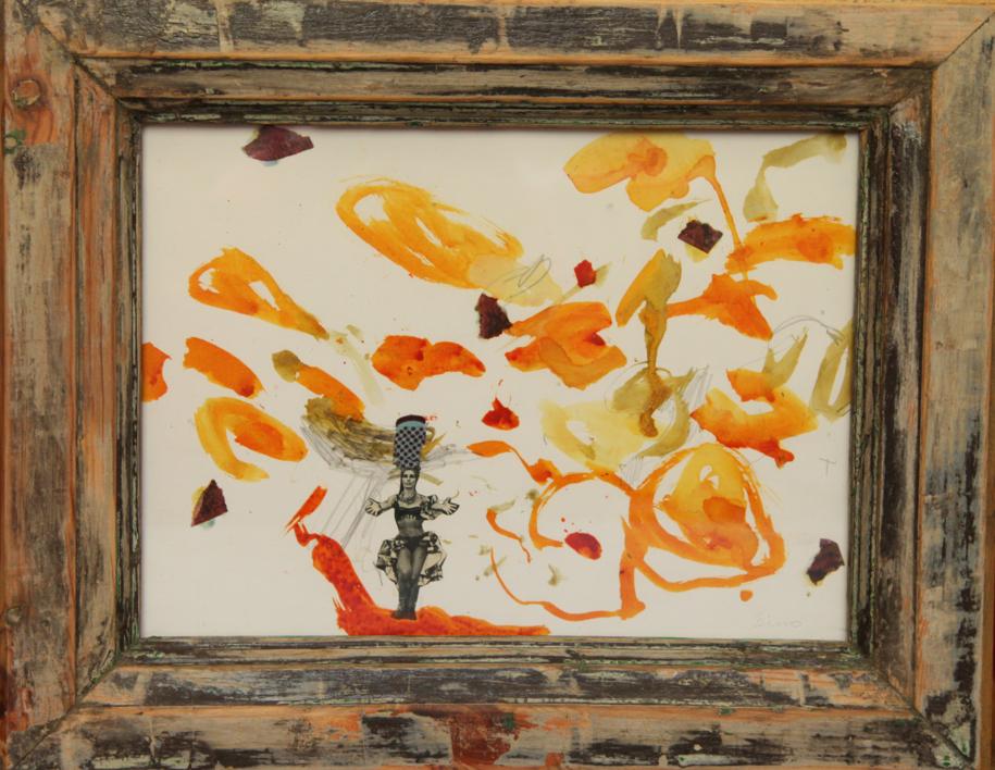 GYMBA |Collage de SINO | Compra arte en Flecha.es