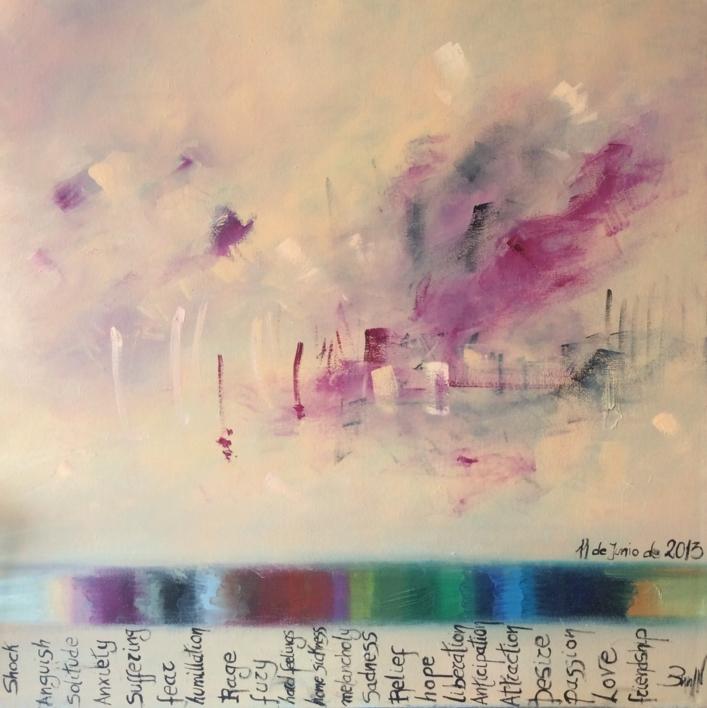 Unavoidable 22 @motios I |Pintura de María Julia Bennassar | Compra arte en Flecha.es