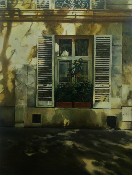 Paris-frente al Sena |Pintura de Carmen Nieto | Compra arte en Flecha.es
