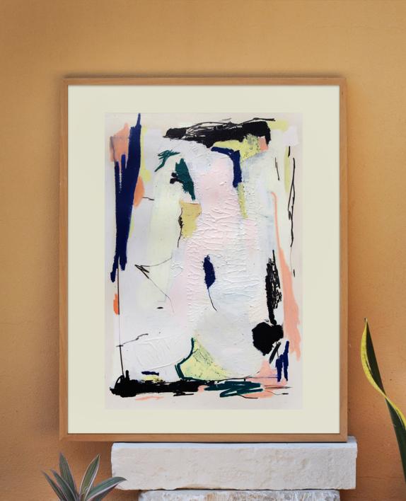 Limon VI | Pintura de Julian Smith & Toni Salom | Compra arte en Flecha.es
