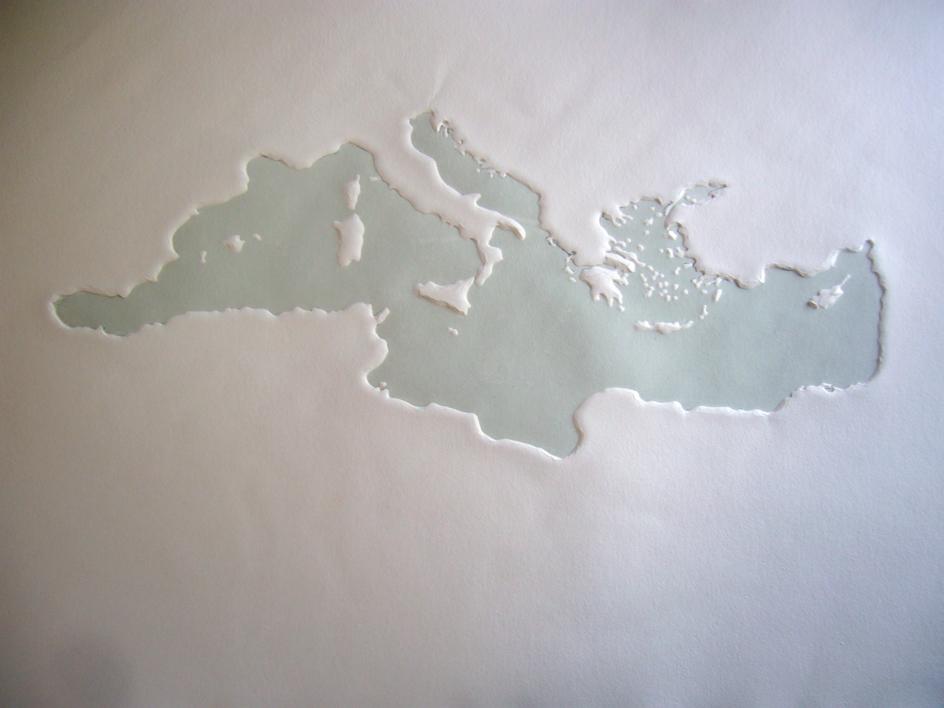 Mare Nostrum XIX |Obra gráfica de Jaelius Aguirre | Compra arte en Flecha.es