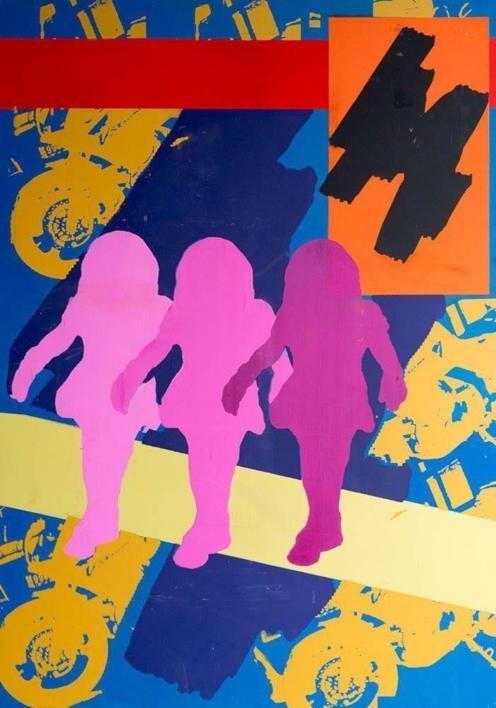 nenas |Obra gráfica de androck | Compra arte en Flecha.es