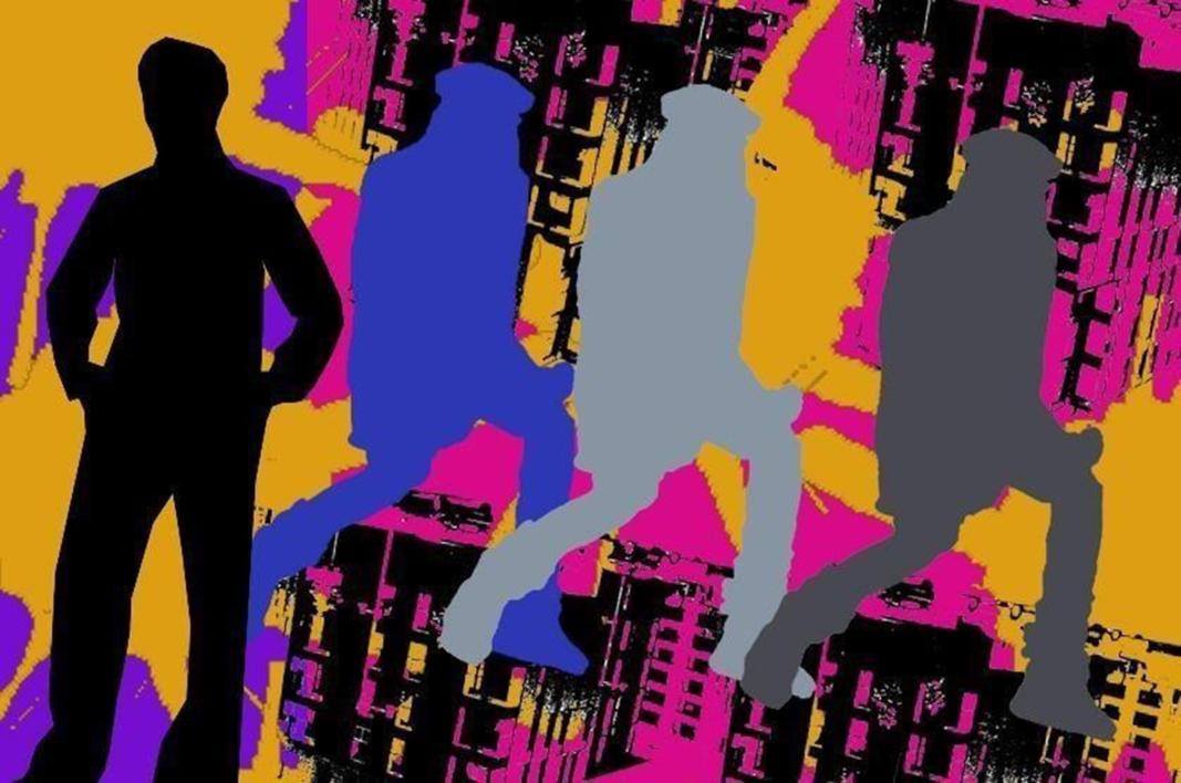 Sombras |Obra gráfica de androck | Compra arte en Flecha.es