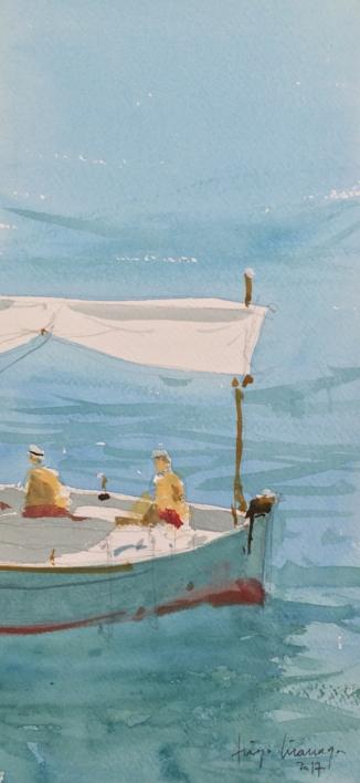 Llaud |Pintura de Iñigo Lizarraga | Compra arte en Flecha.es
