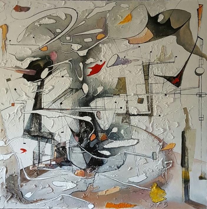Adagio |Pintura de Valeriano Cortázar | Compra arte en Flecha.es