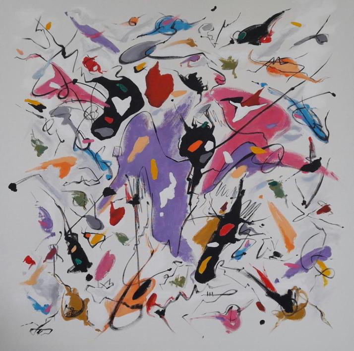 Everybody knows |Pintura de Valeriano Cortázar | Compra arte en Flecha.es