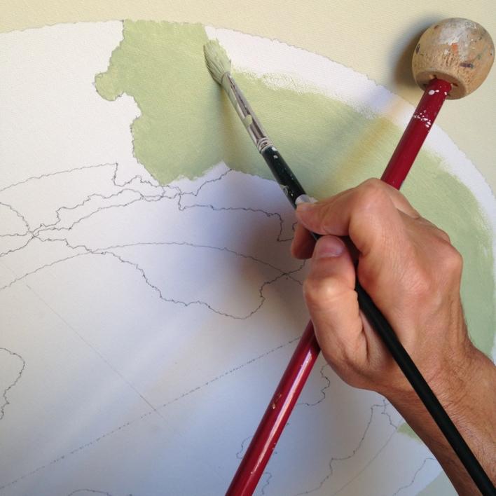 bulleye VI | Pintura de Rafa Mateo | Compra arte en Flecha.es