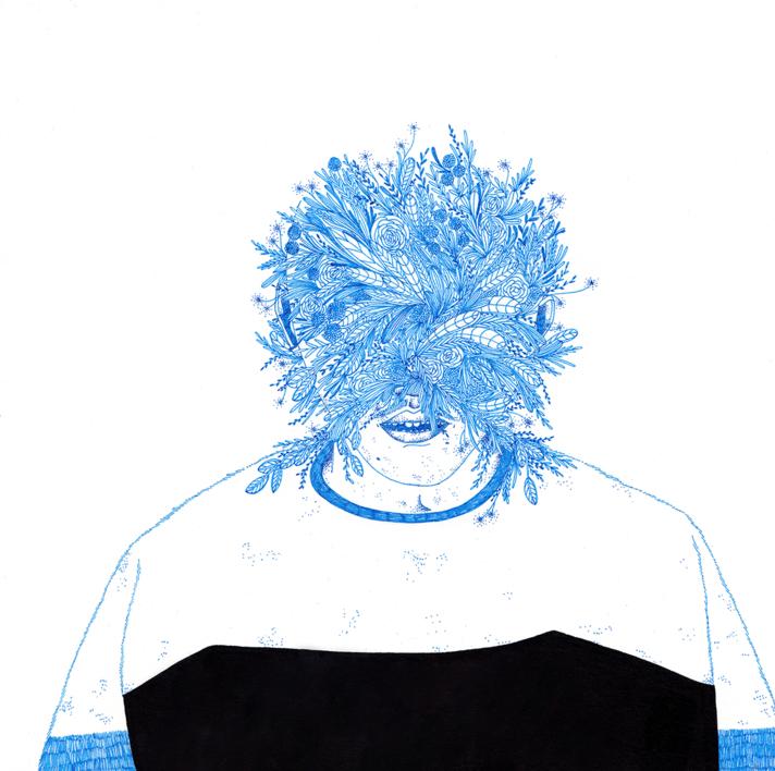 Qué bien que ya no recuerdo (3) |Dibujo de Espinaca Explosiva | Compra arte en Flecha.es