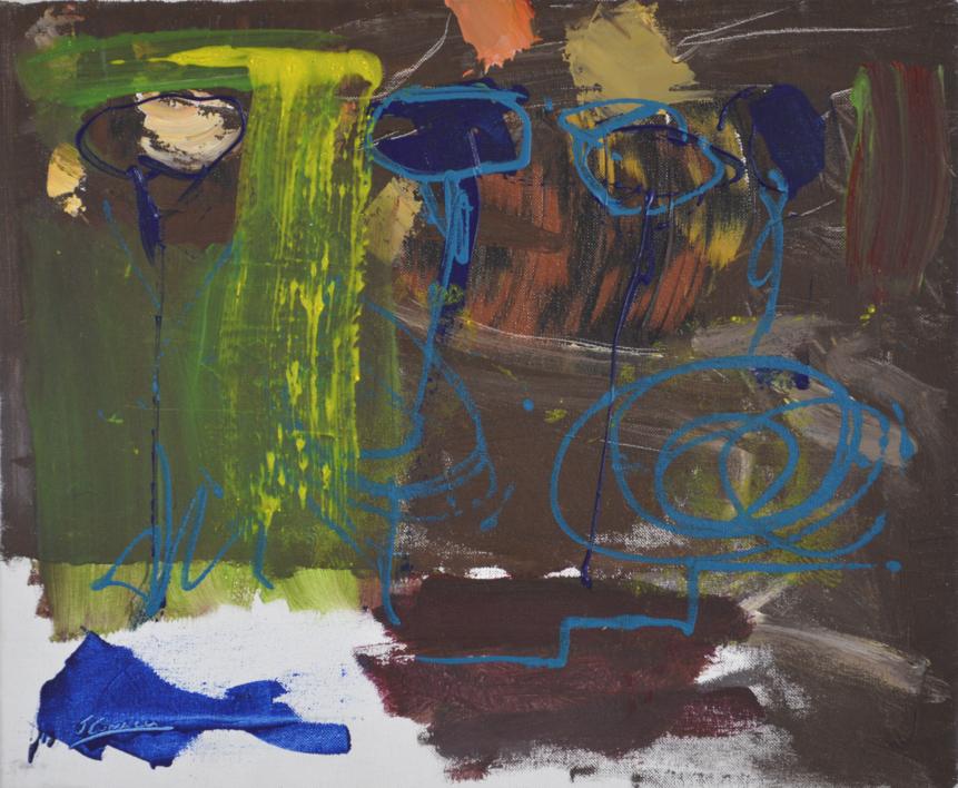 TIERRA 2 |Pintura de JCuenca | Compra arte en Flecha.es