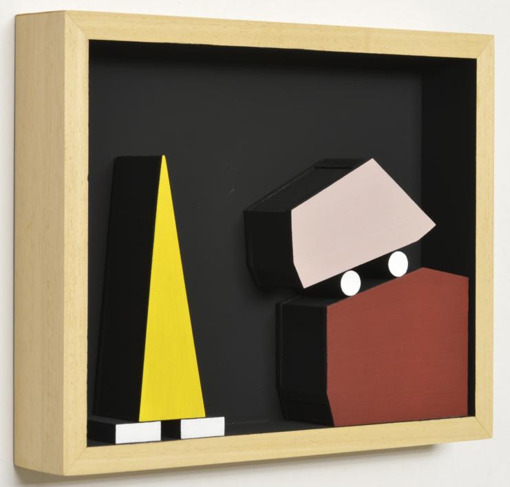 Móvil interactivo 0189 posición A |Escultura de pared de Manuel Izquierdo | Compra arte en Flecha.es