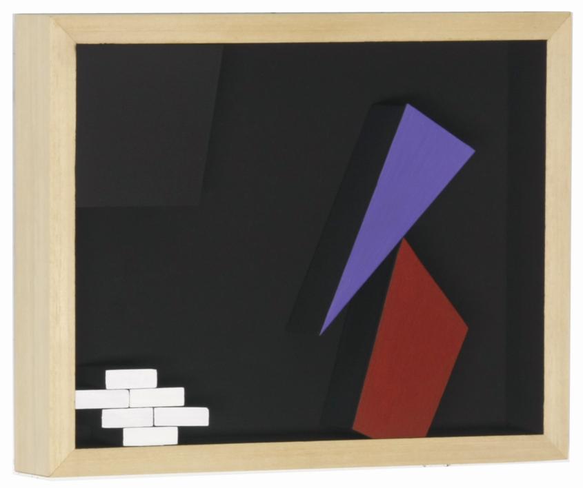 Móvil interactivo 0186 posición A |Escultura de pared de Manuel Izquierdo | Compra arte en Flecha.es