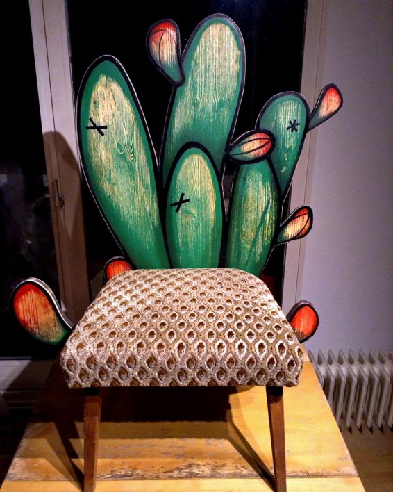 Silla Cactus | Escultura de laulimens | Compra arte en Flecha.es