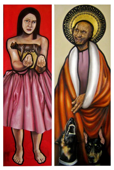 La mala educación |Pintura de laulimens | Compra arte en Flecha.es