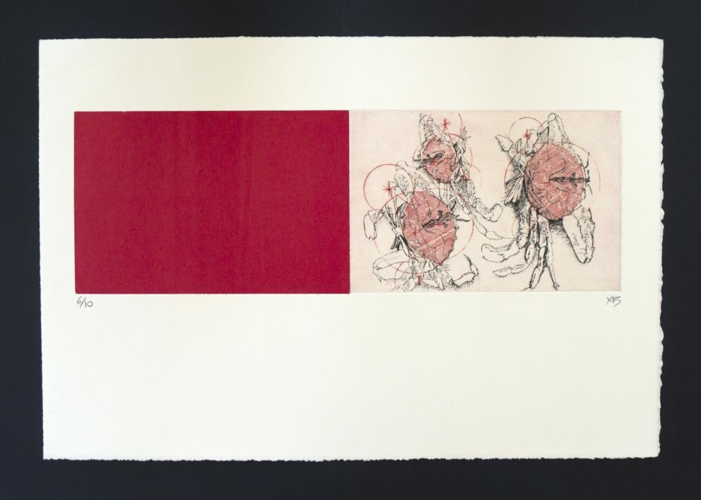 La Alquimia de la Geometria, Cangrejos |Obra gráfica de Ximena Bianco | Compra arte en Flecha.es