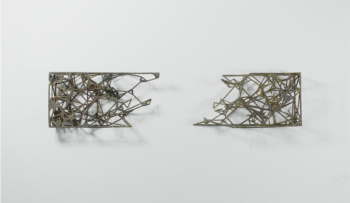 Fractales |Escultura de pared de Daniel Domingo Schweitzer | Compra arte en Flecha.es