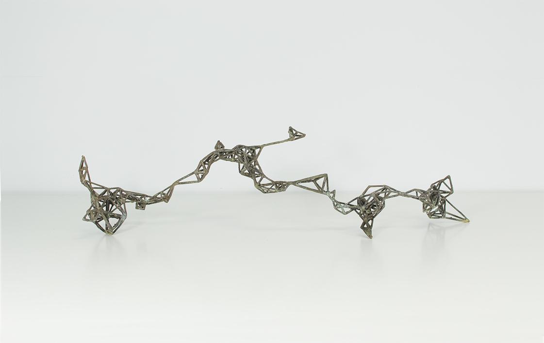 Fractales (ensayo1) |Escultura de Daniel Domingo Schweitzer | Compra arte en Flecha.es