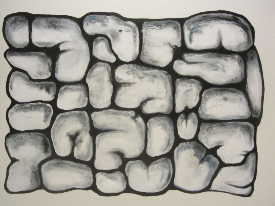 The Inner Wall |Pintura de Mercedes Azofra | Compra arte en Flecha.es