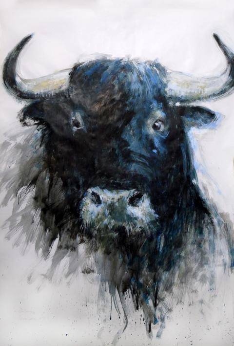 retratos ilustres nº 1 |Pintura de saiz manrique | Compra arte en Flecha.es