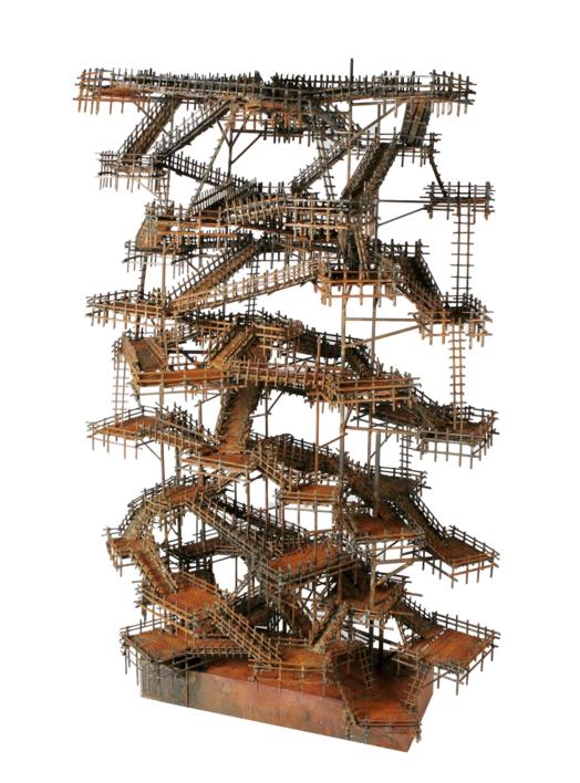 LABERINTOS |Escultura de Fernando Suárez | Compra arte en Flecha.es