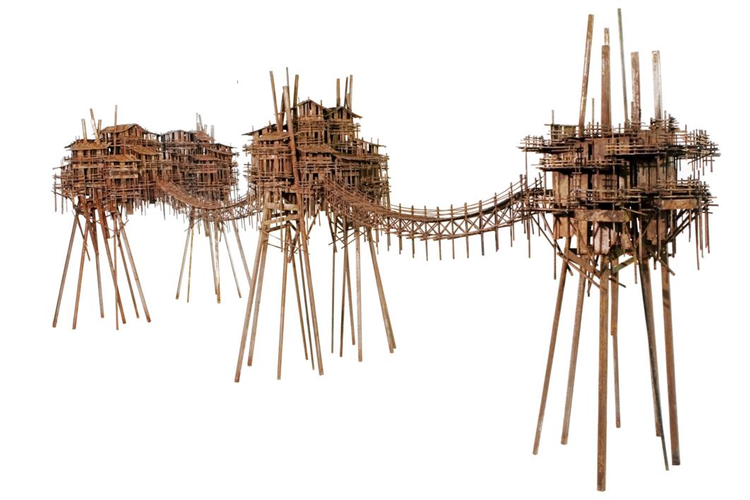 ALDEAS TRANSVERSALES |Escultura de Fernando Suárez | Compra arte en Flecha.es