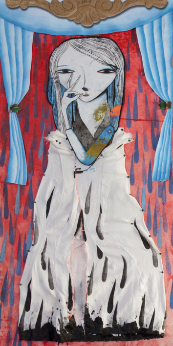 Alegoría de una virgen by WONDERLAND |Collage de Katarzyna Rogowicz | Compra arte en Flecha.es
