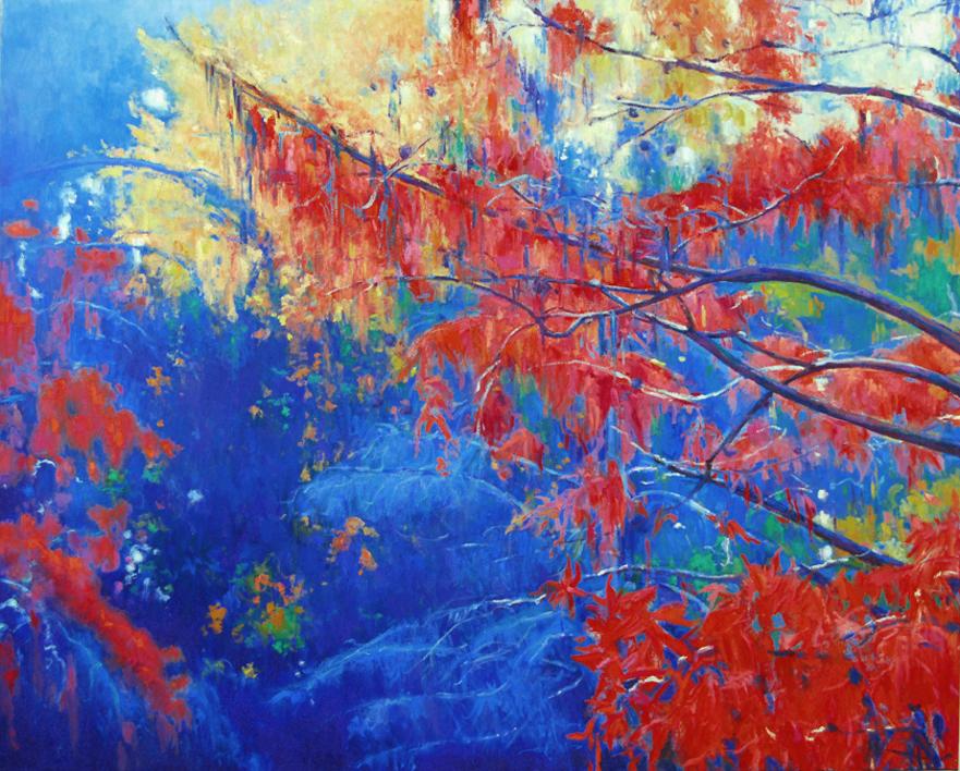Desde el agua |Pintura de Manuel Luca de tena | Compra arte en Flecha.es