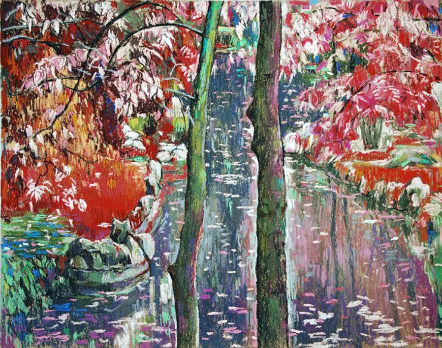 Cauce |Pintura de Manuel Luca de tena | Compra arte en Flecha.es