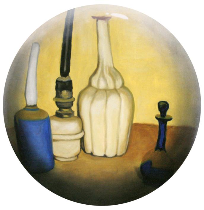 Bodegón amarillo |Ilustración de Enrique González | Compra arte en Flecha.es