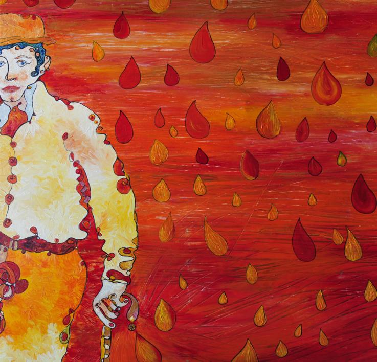 Autoretrato |Pintura de RICHARD MARTIN | Compra arte en Flecha.es