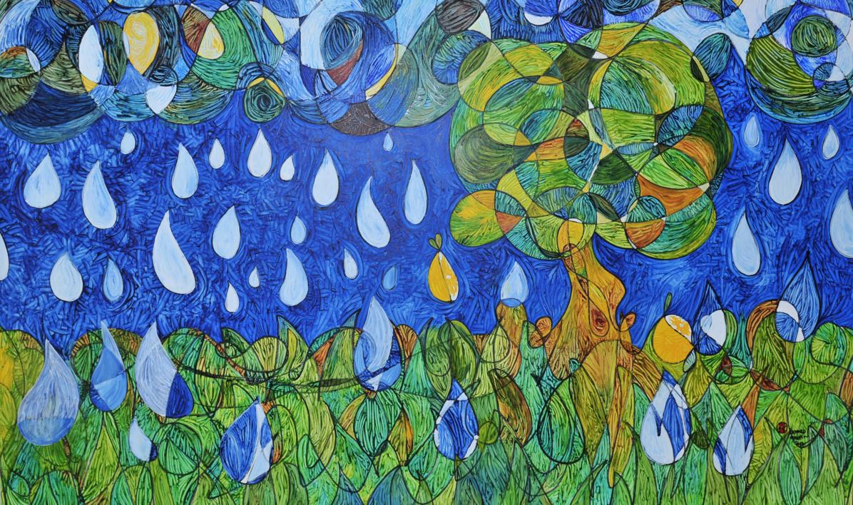 El Limonero - El donador de la inmortalidad |Pintura de RICHARD MARTIN | Compra arte en Flecha.es