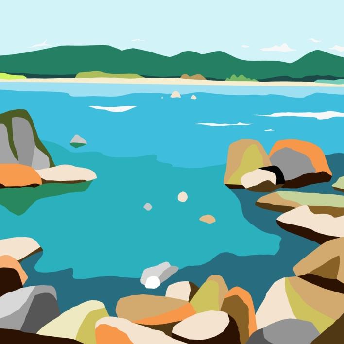 Rocas |Digital de ALEJOS | Compra arte en Flecha.es