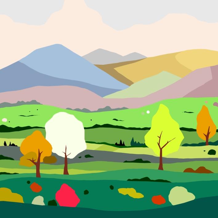 Campos  Digital de ALEJOS   Compra arte en Flecha.es
