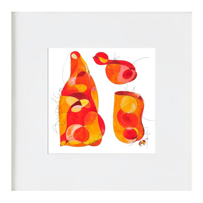 Ampolla de la vida |Ilustración de RICHARD MARTIN | Compra arte en Flecha.es