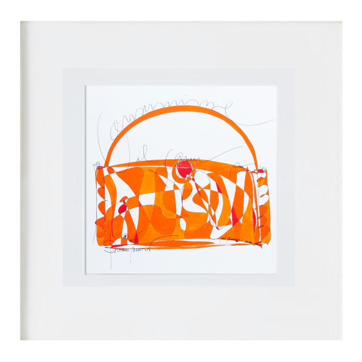 el bolso |Ilustración de RICHARD MARTIN | Compra arte en Flecha.es