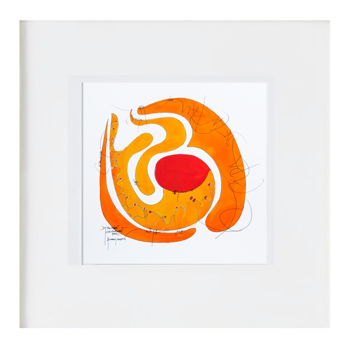 la pipa de la paz |Ilustración de RICHARD MARTIN | Compra arte en Flecha.es