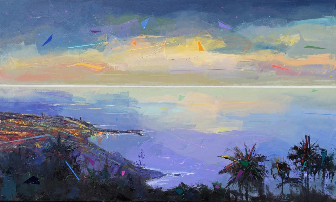 Paraíso 6 |Pintura de Benito Salmerón | Compra arte en Flecha.es