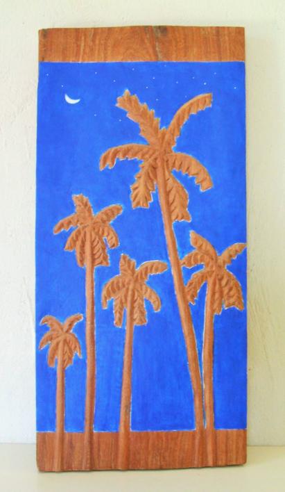 Palm trees |Escultura de Miguel Costales | Compra arte en Flecha.es
