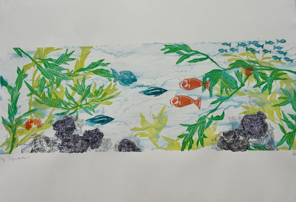 Profundidad 1 |Collage de Nélida Dias de Campos | Compra arte en Flecha.es