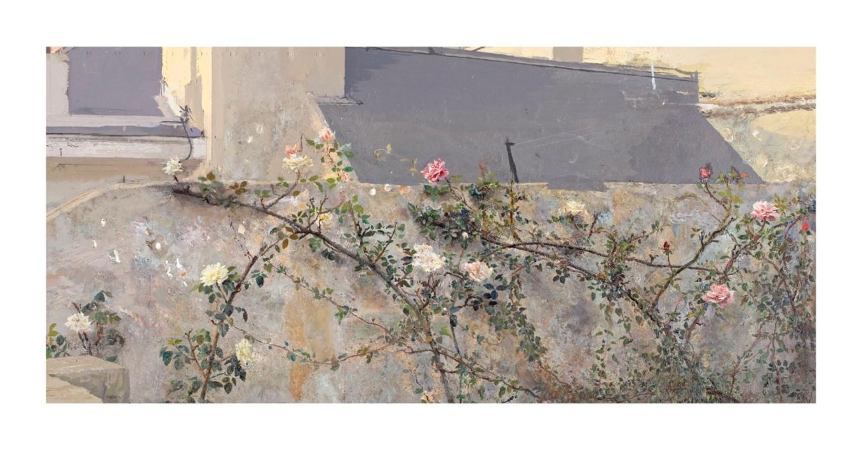 Terraza de Lucio |Obra gráfica de Antonio López | Compra arte en Flecha.es