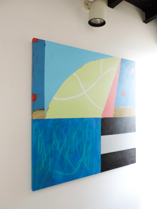 Asimetría #4 | Pintura de Nadia Jaber | Compra arte en Flecha.es