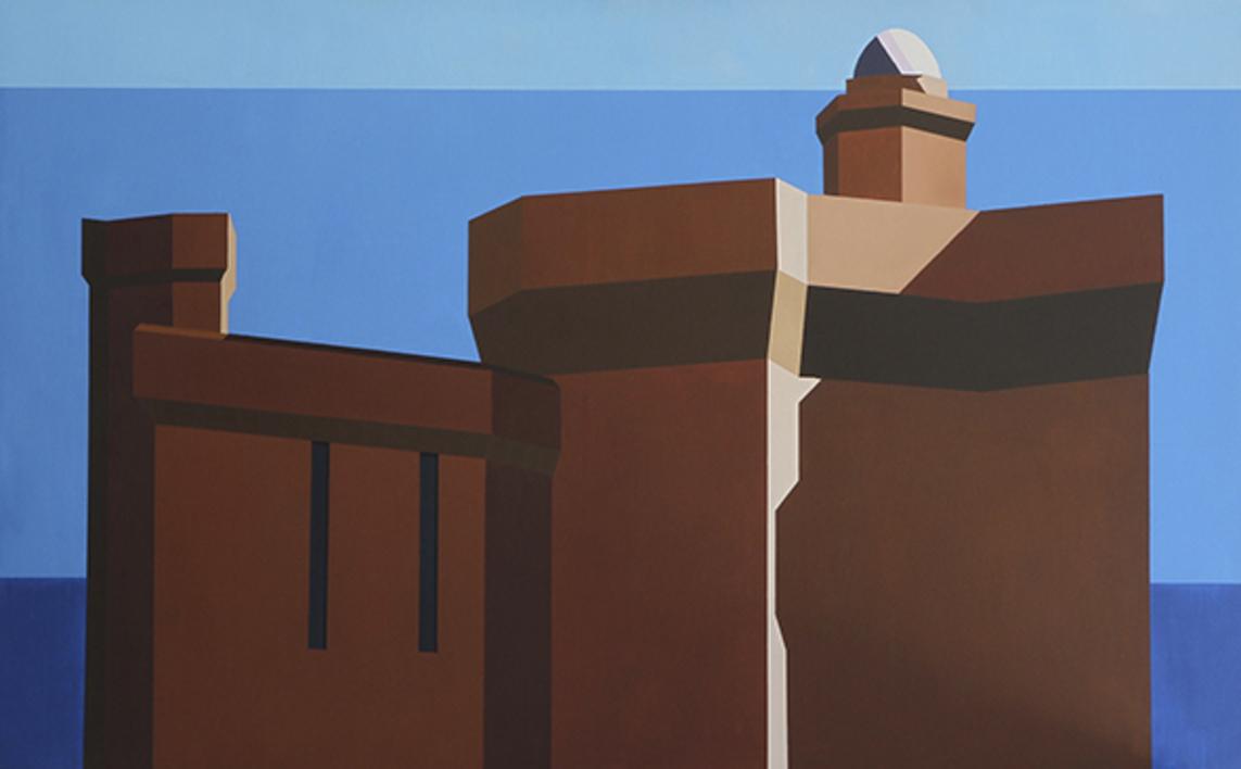 El Castillet de Perpignan |Pintura de Marcos Peinado | Compra arte en Flecha.es