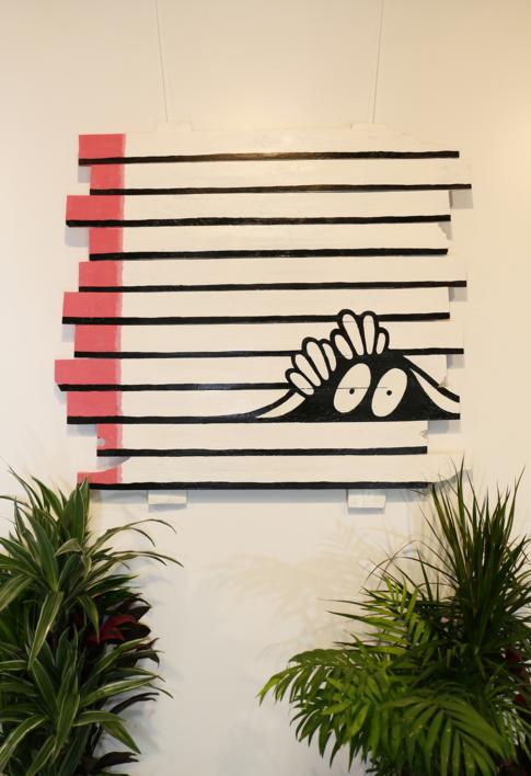 HIDDEN |Escultura de pared de JuanjoGasull | Compra arte en Flecha.es