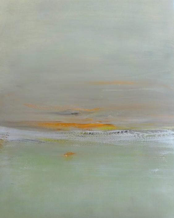 Luz de invierno | Pintura de Esther Porta | Compra arte en Flecha.es