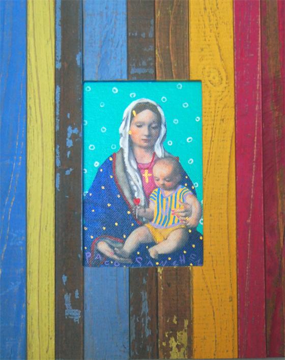 Guapita de la Esperanza |Pintura de Paco Sánchez | Compra arte en Flecha.es