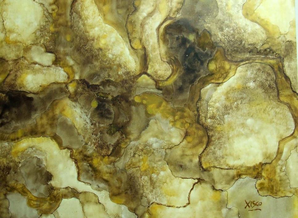 Opus VI  Pintura de xisco   Compra arte en Flecha.es
