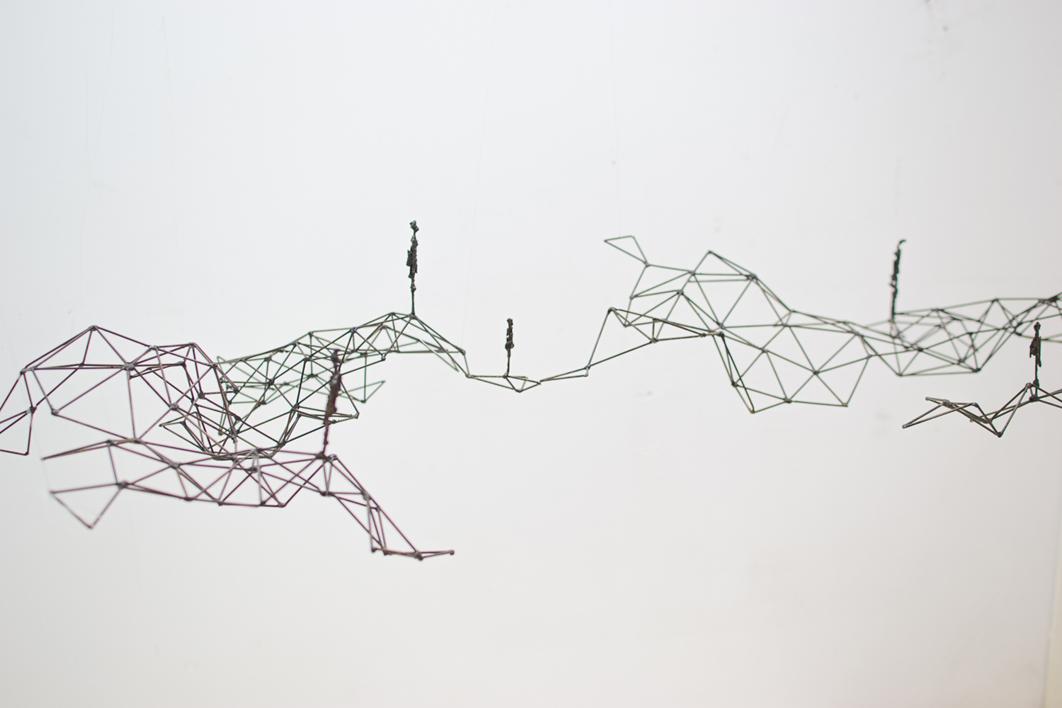 Rizoma   Escultura de Daniel Domingo Schweitzer   Compra arte en Flecha.es