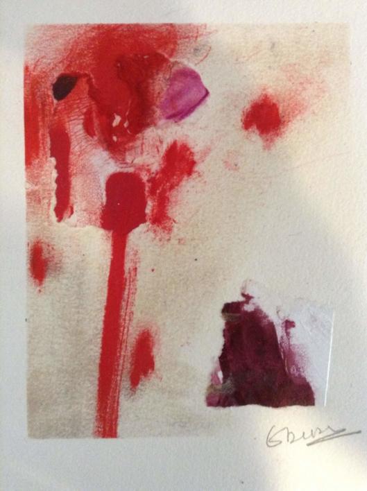 Paisaje rojo II |Collage de Edurne Gorrotxategi | Compra arte en Flecha.es