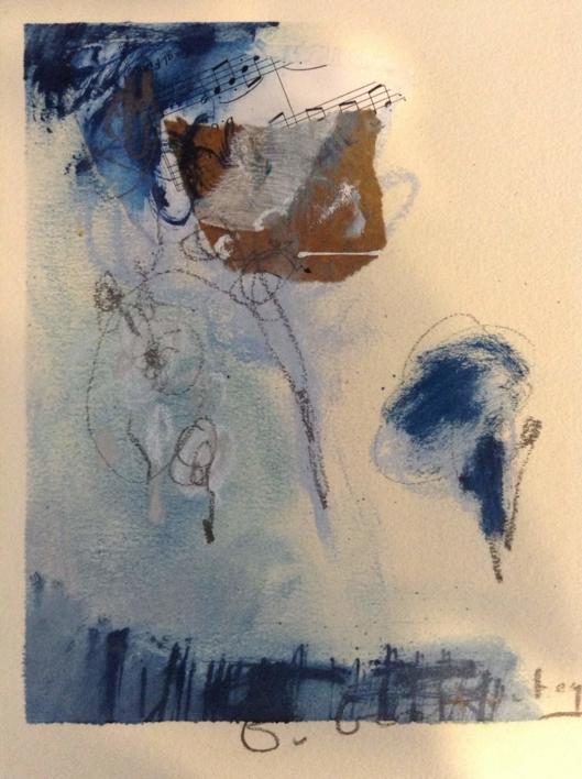 Paisaje musical  Collage de Edurne Gorrotxategi   Compra arte en Flecha.es